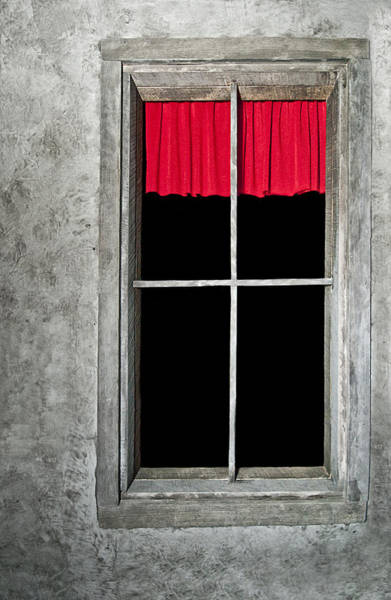 Photograph - Secret Red Curtain by Carolyn Marshall