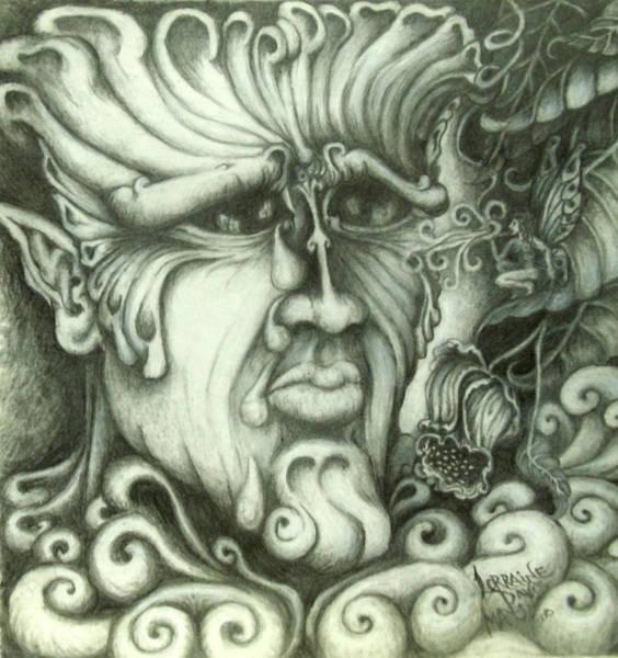 Wall Art - Drawing - Secrets by Lorraine Davis Martin