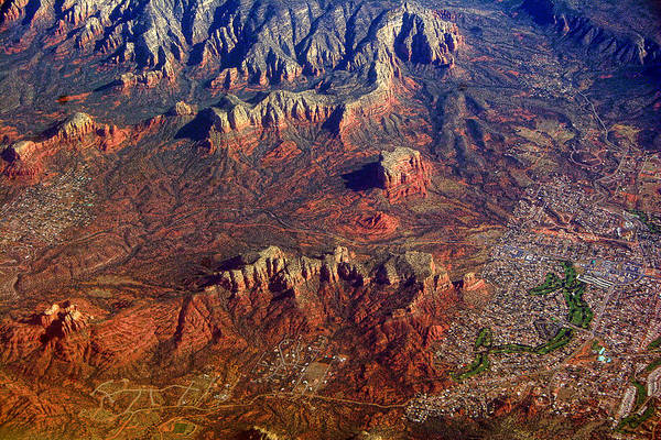 Photograph - Sedona Arizona Planet Earth by James BO Insogna