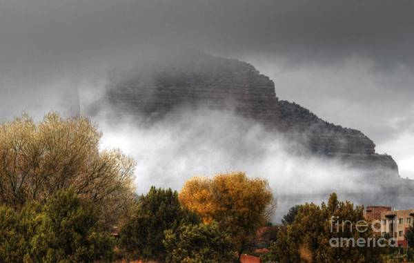 Photograph - Sedona Fog by Tam Ryan
