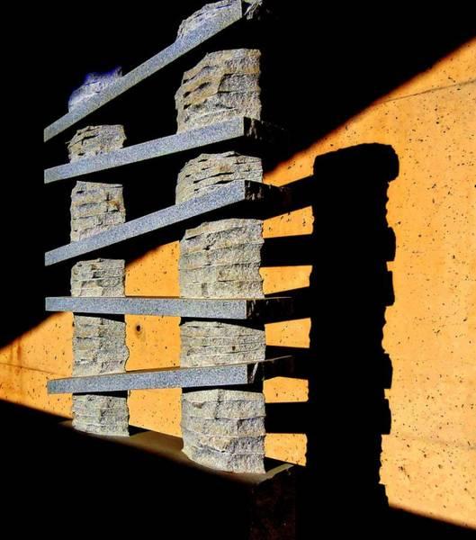 Rungs Wall Art - Digital Art - Seeing Sculpture In A New Light by Randall Weidner