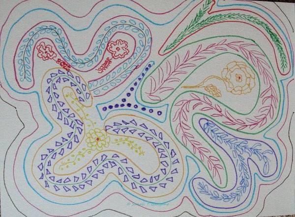 Yourself Drawing - Seek by Sonali Gangane