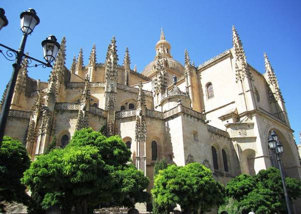 Photograph - Segovia Alcazar Ancient Chapel Chatedral In Spain by John Shiron