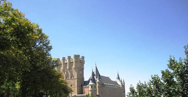 Photograph - Segovia Alcazar Castle Knights In Spain by John Shiron