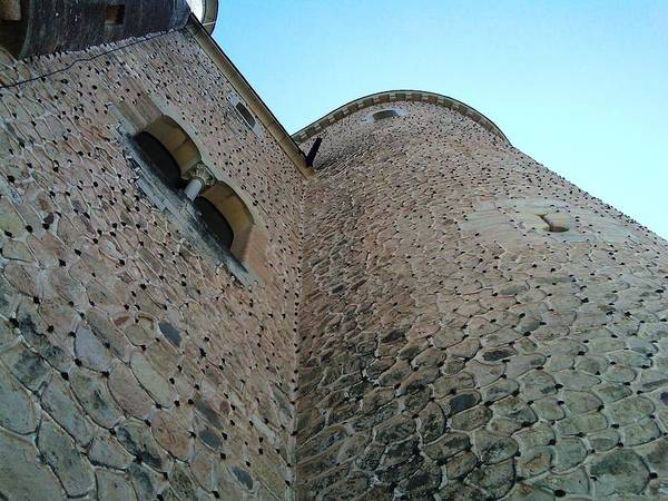 Photograph - Segovia Castle Wall II Alcazar Architecture And Design In Spain by John Shiron