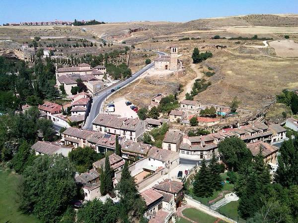 Photograph - Segovia Panoramic View II Of The City From Top Of The Castle In Spain by John Shiron