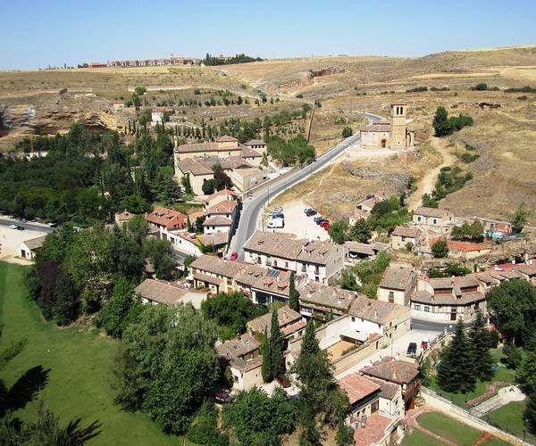 Photograph - Segovia Panoramic View Of The City From Top Of The Castle In Spain by John Shiron