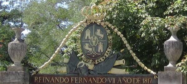 Photograph - Segovia Reinando Fernando Vii Ano De 1817 Placque In Spain by John Shiron