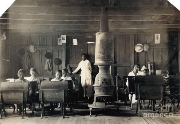 Photograph - Segregated School, 1916 by Granger