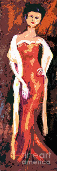 Painting - Self Portrait - Going Out by Ginette Callaway