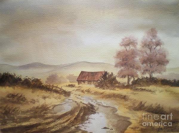 Painting - Selo Poslije Kise by Eleonora Perlic