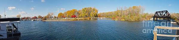 Photograph - Seneca River Panorama by William Norton