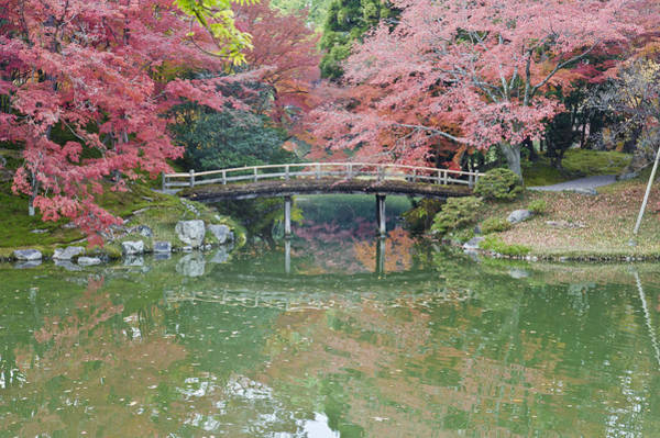 Made In Japan Wall Art - Photograph - Sento Imperial Palace Gardens. Lake by Rob Tilley
