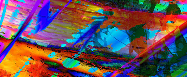 Wall Art - Digital Art - Separation Of Time by Phill Petrovic
