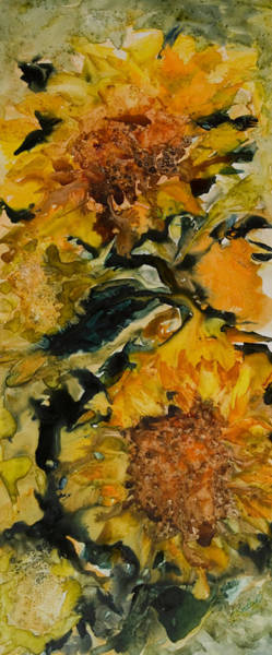 Painting - September Sunflowers by Joanne Smoley