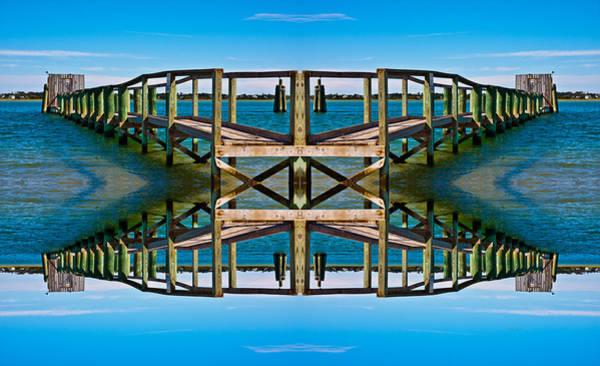 Piers Digital Art - Serenity by Betsy Knapp