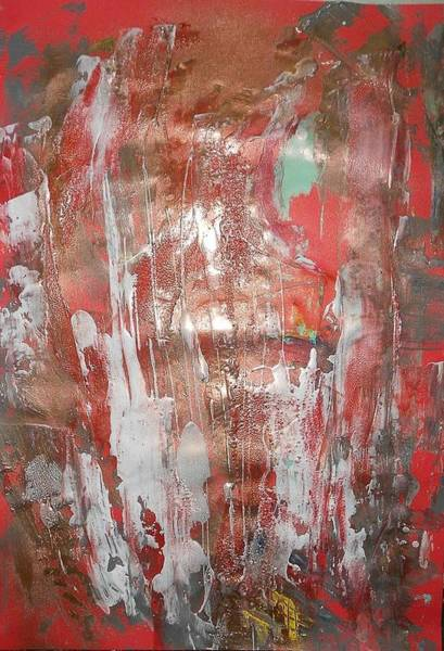 Arisen Painting - Series 27 No 78 by Ulrich De Balbian