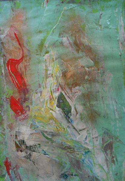 Arisen Painting - Series 27 No 82 by Ulrich De Balbian
