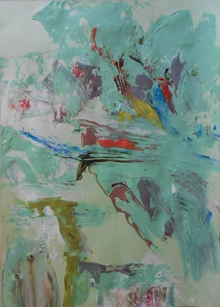 Arisen Painting - Series 27 No 88 by Ulrich De Balbian
