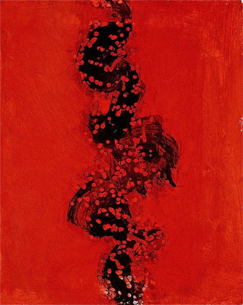 Painting - Serpentine All In A Roe  2 by Cliff Spohn