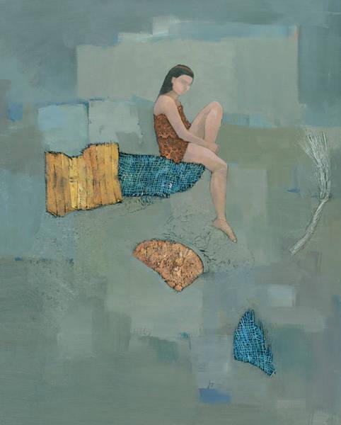 Wall Art - Painting - Set Adrift by Steve Mitchell