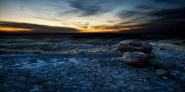 Photograph - Setting Sun by RicharD Murphy