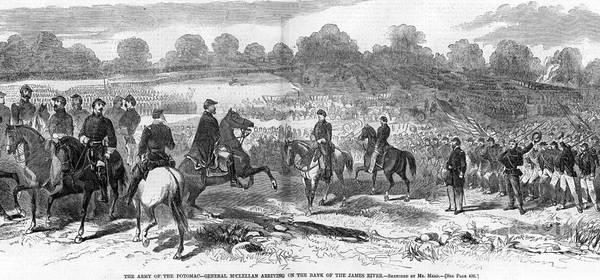 Photograph - Seven Days Battles, 1862 by Granger