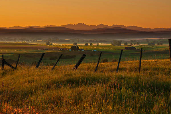 Seven Photograph - Seven Devils Of Idaho At Sunrise by Alvin Kroon