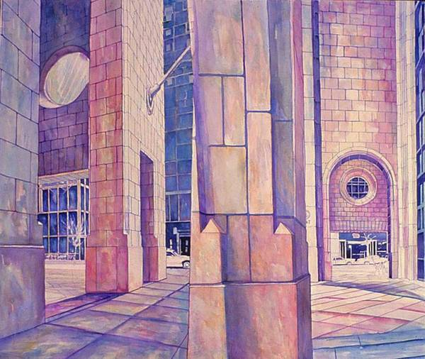 Painting - Seventh In Att Series by Nancy Wait