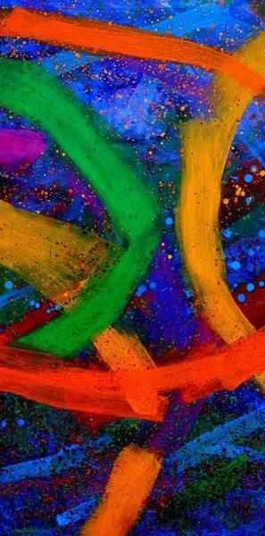 Vibrant Mixed Media - Sextet   Iv  by John  Nolan