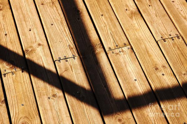 Photograph - Shaded Walkway Floor by Agusti Pardo Rossello