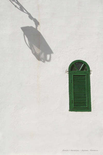 Asilah Wall Art - Photograph - Shadow And Window by Emile Ibrahim