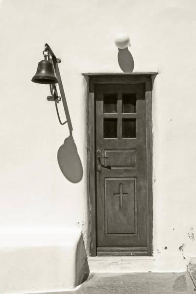 Doorknob Photograph - Shadow Games by Joana Kruse