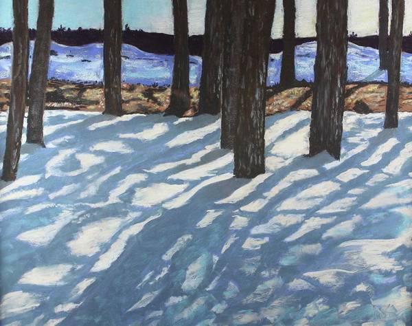 Flagstaff Painting - Shadow Lights by Drusilla Montemayor