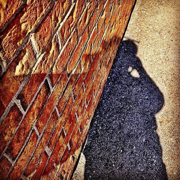 Buildings Wall Art - Photograph - Shadow Of A Man by Christopher Campbell