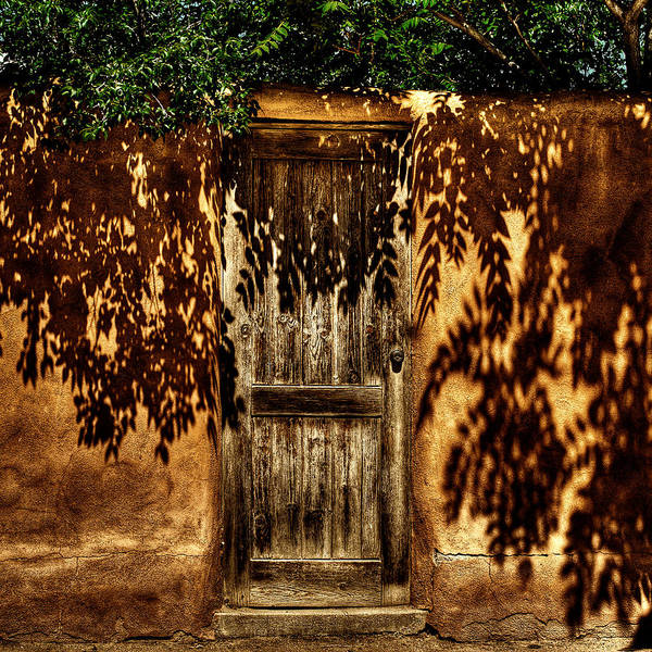 Photograph - Shadowed Door by David Patterson
