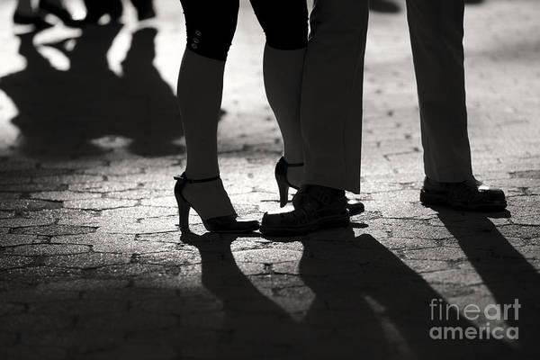 Photograph - Shadows Of Tango by Leslie Leda