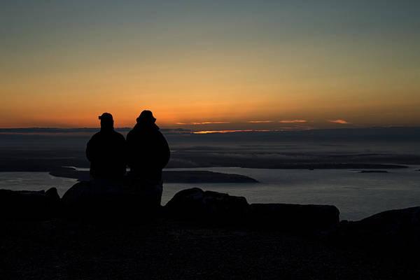 Photograph - Sharing Sunrise by Sara Hudock