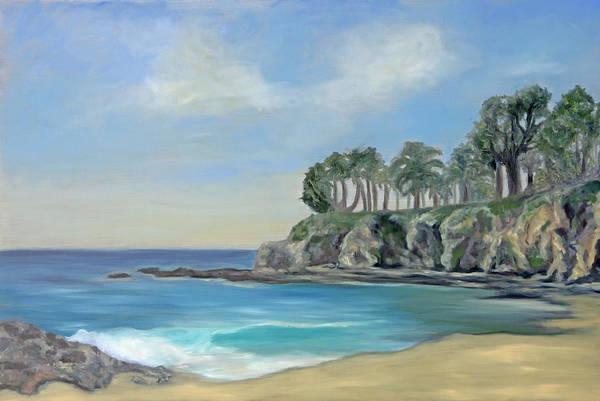 Laguna Beach Painting - Shaws Cove by Kelly Headrick