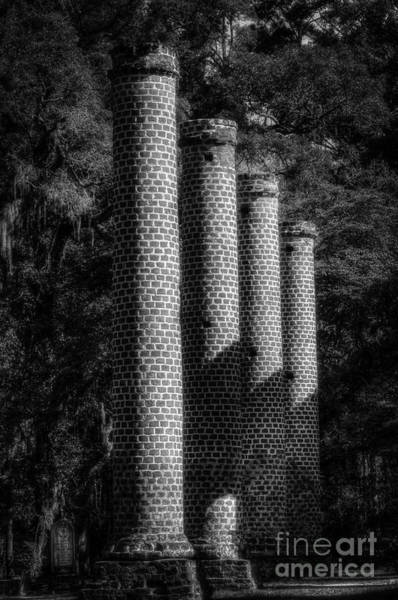Photograph - Sheldon Church Columns by David Waldrop