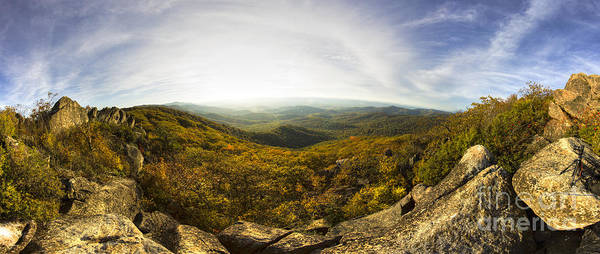 Wall Art - Photograph - Shenandoah National Park Panoramic by Dustin K Ryan