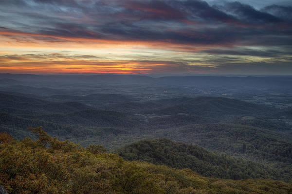 Photograph - Shenandoah Sunset by Pierre Leclerc Photography