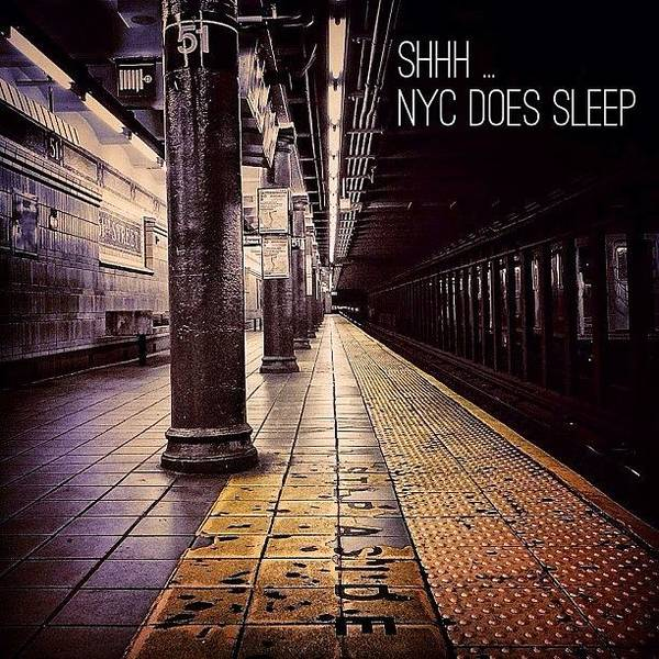 Transport Photograph - Shhh ... - Nyc by Joel Lopez