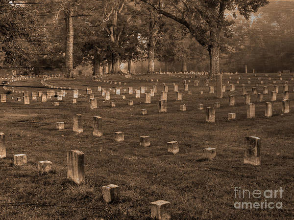 Wall Art - Photograph - Shiloh National Cemetery by David Bearden