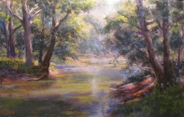 Pastel - Shimmering Stream by Bill Puglisi