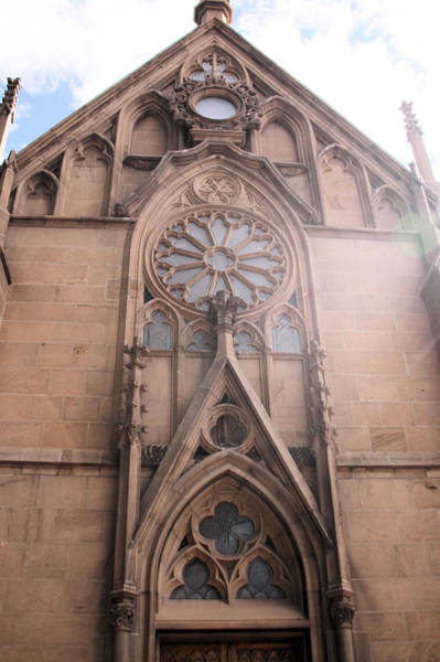 Loretto Chapel Photograph - Shining Facade by Cheri Hennig