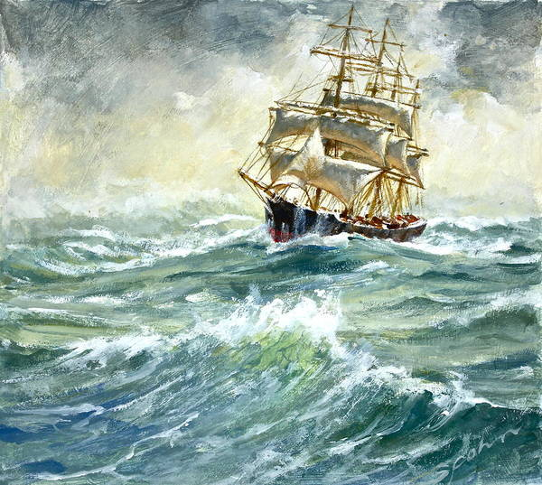 Painting - Shipshape  by Cliff Spohn