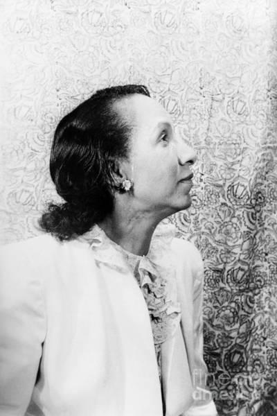 Photograph - Shirley Graham Du Bois by Granger