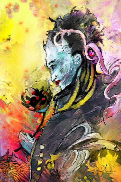 Painting - Shiva Diva by Miki De Goodaboom
