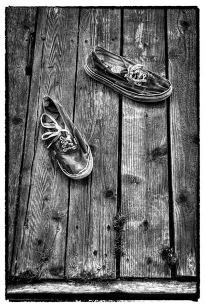 Photograph - Shoes On The Dock II by David Patterson